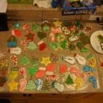 Christmas cookies are decorated and ready!