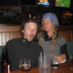 Nephew Ryan and Michelle in Breckenridge on their bicycle trip across America! www.americabycycle.com