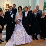Nov. 12th- Nephew Andrew and Karey's wedding with Hoffman family