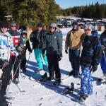 Jackson, Tierney, Jake, Johnny, Kolton, Craig, Jimmy, Jim, Taylor, Randy (and Dan taking the pic) at Eldora