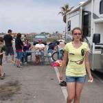 Janaye's Birthday at Huntington Beach, CA - on the beach!
