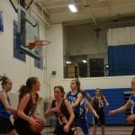Janaye's last few basketball games of 2011 in 8th grade