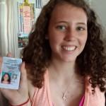 Lookout world, Janaye has her learner's permit