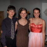 Janaye and her Prom dates