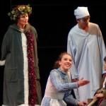 Janaye sings to Tiny Tim in Scrooge