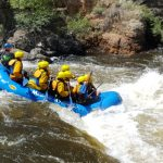 Whitewater rafting on the Poudre River