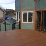 Deck is done except for rails