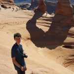 Quick hike up to Delicate Arch in Utah