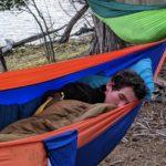 Alex in his hammock