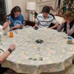 Playing 'Train' at Grandma Nancy's