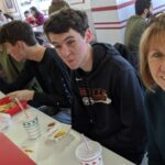 January - Obligatory stop at In-n-Out