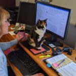 Michelle's office assistant, Mayzie