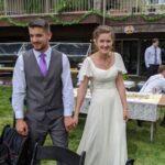Just married! Eddie and Katelynn