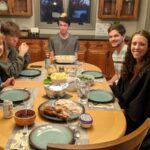Thanksgiving dinner at home