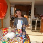 May - Alex's 16th birthday