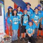 Alex and team competing in robotic world championships in Houston