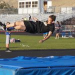 Eric high jumping