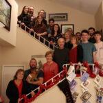 Christmas w/ California family at Nancy's home