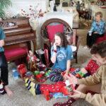 Christmas morning presents