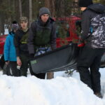 February - Alex at Scouting Klondike competition