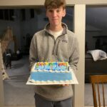 October - Eric's 16th Birthday