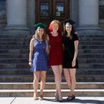 Janaye with her fellow graduate friends