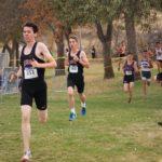 Alex running at regionals