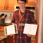 May - Alex winning a ton of awards!