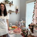 March - Janaye's bridal shower given by Aunt Julie in California