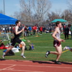 Alex in the 1600 m.