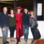 Post graduation celebration