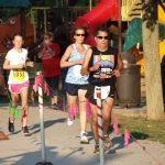 September -Michelle running a 5K race