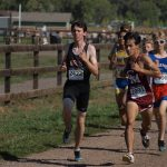 Alex running a 5K in their regional championship