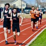 March - Track season has started